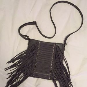 Maurices Bags - Maurices Charcoal Crossbody Purse - like NEW!
